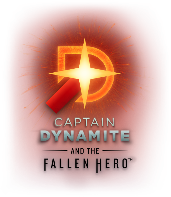 Captain Dynamite and the Fallen Hero